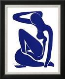 Blå akt I Posters av Henri Matisse