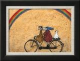 Somewhere under a Rainbow Poster von Sam Toft