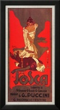 Puccini, Tosca Posters by Adolfo Hohenstein
