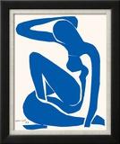 Blå akt Posters av Henri Matisse