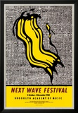 New Wave Festival Affiche par Roy Lichtenstein