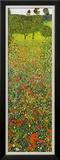 Campo Di Papaveri Print by Gustav Klimt