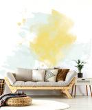 Golden Blur Mural de parede