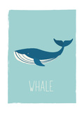 Whale Posters van  Kindred Sol Collective