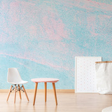 Pastel Rock Mural de parede