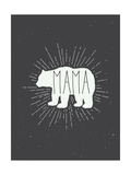 Mama Bear Poster van  Kindred Sol Collective