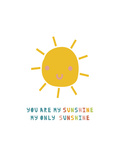 You Are My Sunshine Giclée-Premiumdruck von  Kindred Sol Collective