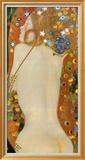 Serpientes acuáticas IV, c.1907 Pósters por Gustav Klimt