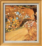 Serpientes acuáticas IV Pósters por Gustav Klimt