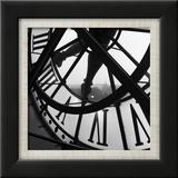 La grande horloge d'Orsay Poster par Tom Artin