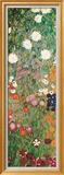 Flower Garden (detail) Prints by Gustav Klimt