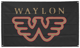 Waylon Jennings - Flying W Plakat
