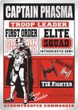Captain Phasma - Troop Leader Tin Sign