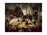 Commotion in the Cattle Ring Giclée-tryk af James Bateman