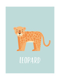 Leopard Plakater af  Kindred Sol Collective