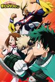 My Hero Academia - Heroes Affischer