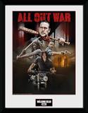 The Walking Dead - Season 8 Collage Stampa del collezionista