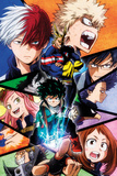 My Hero Academia - Group Plakater
