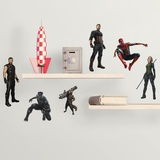 Marvel Avengers Infinity War Characters Wall Decal