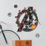 Marvel Avengers Infinity War Logo Wall Decal