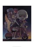 Sunset Poster van Aaron Jasinski