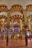 Arches and columns, The Great Mosque and Cathedral of UNESCO World Heritage Site, Spain Photographic Print by Richard Maschmeyer