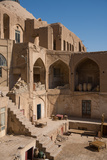 Courtyard in the Old Bazaar, Kashan, Iran, Middle East Photographic Print by James Strachan
