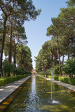 Bagh-e Dolat garden, Yazd, Iran, Middle East Photographic Print by James Strachan