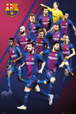 Barcelona - Players 2017-2018 Pósters