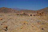 Ruined caravanserai on old Silk Route, near Natanz, Iran, Middle East Photographic Print by James Strachan