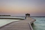 Kuramathi Island, Rasdhoo atoll, Ari atoll, Maldives, Indian Ocean, Asia Photographic Print by Nigel Hicks