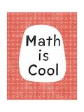 Math Is Cool Affiches par Linda Woods