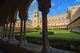 Cloister, Cathedral of Monreale, Monreale, Palermo, Sicily, Italy, Europe Photographic Print by Marco Simoni