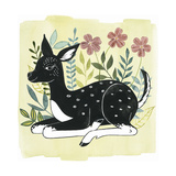 Floral Forester II Lámina giclée prémium