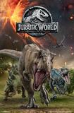 Jurassic World 2 - Group Affiches