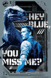 Jurassic World 2 - Hey Blue Kunstdrucke