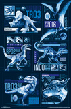 Jurassic World 2 - Grid Poster