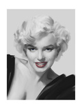 The Look Red Lips Premium Giclee Print