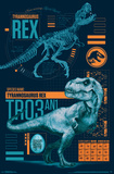 Jurassic World 2 - T-Rex Prints