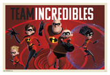 The Incredibles 2 - Team Family Affiches