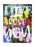 Graffiti Love II Giclée-Premiumdruck