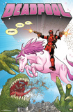 Deadpool - Unicorn Plakater