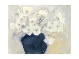 White Bouquet Premium Giclee Print