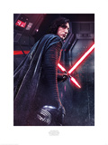Star Wars: The Last Jedi - Kylo Ren Rage Prints