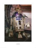 Star Wars: The Last Jedi - R2-D2 & Porgs Poster