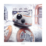 Star Wars: The Last Jedi - BB-8 Peek Art