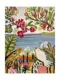 Birds in the Garden II Prints