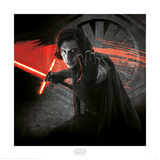 Star Wars: The Last Jedi - Kylo Ren Force Prints