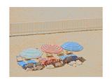 Umbrellas III Kunst
