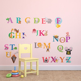 Learning Alphabet Adesivo de parede